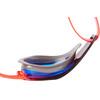 speedo Fastskin Prime Mirror Okulary pływackie czerwony